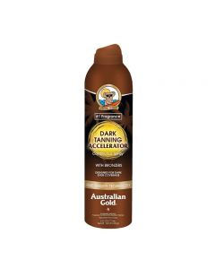 Australian Gold Dark Tanning Accelerator Continuos Spray BRONZERS 177 ml