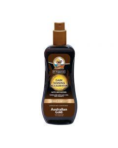 Australian Gold Dark Tanning Spray Gel Accelerator BRONZERS 237 ml