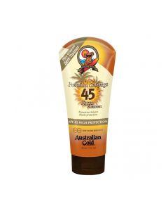 Australian Gold SPF45 Premium Coverage Faces Sunscreen Self-Tanner 88 ml