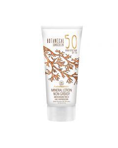 Australian Gold SPF50 Botanical Sunscreen Mineral Lotion 147 ml