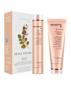 Medavita Kit Huile D'Etoile Shininess Ritual Shampoo + Maschera