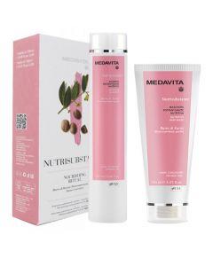 Medavita Kit Nutrisubstance Nourishing Ritual Shampoo + Maschera