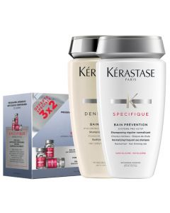 Kerastase Kit Specifique Fiale 30 x 6 ml + Bain Prevention + Bain Densite