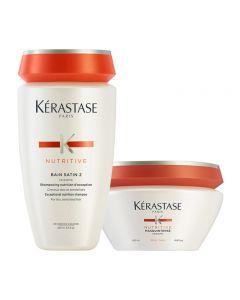 Kerastase Kit Nutritive Irisome Bain 2 + Masque Grossi