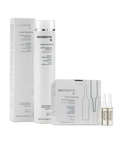 Medavita Kit Lotion Concentree Fiale 13 x 6 ml + Shampoo