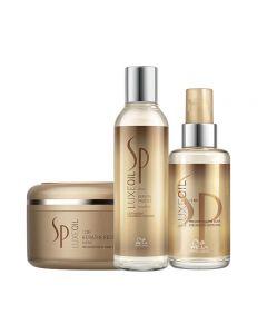 Wella SP Kit LuxeOil Shampoo + Mask + Olio