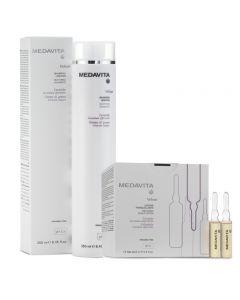 Medavita Kit Velour Fiale 12 x 6 ml + Shampoo